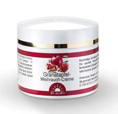 Granatapfel-Weihrauch Anti-Aging Creme - 50ml - Schutz und Pflege