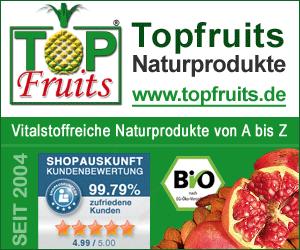 Topfruits.de - Naturprodukte von A-Z